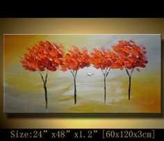 Original Abstract Painting, Modern Textured Painting,  Palette Knife, Home Decor, Painting Oil on Canvas  by Chen n012