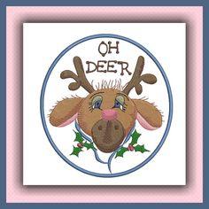 Funky Holiday Reindeer