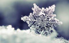 1680x1050 Обои снежинка, снег, форма, узор