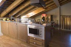 Cocina Apartamento Cerezas
