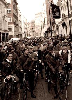 The Tweed Run, London