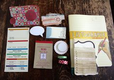 Great journal ideas: DIY Smash Book by Wendy Copley