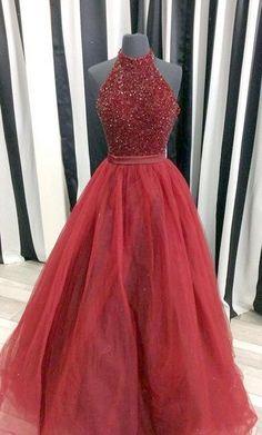 Charming Prom DressBeading Prom DressOrganza Prom DressBall Gown Prom DressFloor Length Prom Dresses