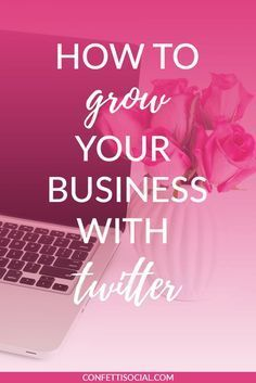 Most businesses don't see the value in Twitter so I'm here to shed a little light on how Twitter can be beneficial for your business. Learn how to grow your business with Twitter on Confetti Social.