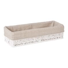 Long White Basket | ZARA HOME United Kingdom 9.99