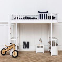 Oliver Furniture Hochbett Wood Weiß
