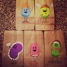 artwork inspired by paper bag - Google Search
