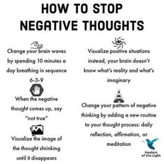 How To Stop Negative Thoughts quotes positivity positive vibes quote of the day life images negativity quotes Motivacional Quotes, Worry Quotes, Coach Quotes, Wisdom Quotes, Self Care Activities, Self Improvement Tips, Coping Skills, Self Development, Personal Development