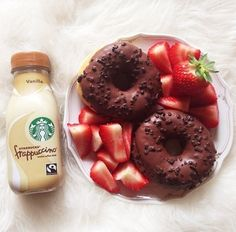 ♡come on guys, like who wouldnt eat this for breakfast? omg love!∘∽∙❁♕∙∾