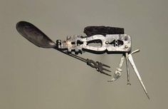 Ancient Roman multitool - pretty nifty item for a traveling soldier.