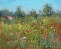 Karen Margulis, 'Summer Meadows are Fleeting' 8x10 pastel