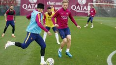 Training session (29/04/16) | FC Barcelona