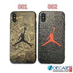 Air Jordan アイフォン8 ケース 浮き彫り ジョーダン iphone7plusケース バスケットボール iphone7sケース エア・ジョーダン