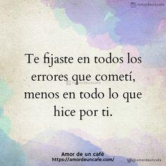Ay que sad:'c Sad Love Quotes, Great Quotes, Life Quotes, Humour Quotes, Qoutes, Frases Instagram, Quotes En Espanol, Hurt Feelings, Queen Quotes
