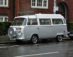VW Campervan by kenjonbro, via Flickr