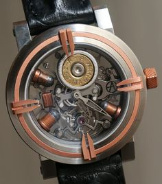 #Magnum bullet in a #Watch - how crazy is that