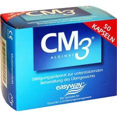 CM3 Alginat Kapseln:   Packungsinhalt: 50 St Kapseln PZN: 02563380 Hersteller: Easyway GmbH Preis: 26,39 EUR inkl. 19 % MwSt. zzgl.…