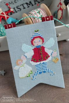 Addie Elf & Baby - The Cricket Collection freebie