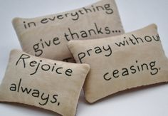 Religious Primitive Bowl Fillers  Tucks  by RyensMarketplace, $14.00...  Ahhh- this is one of my favorite verses...  this would be so cute in a basket /bowl on my NEW kitchen counter (or table).