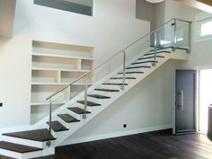 Minimalist railing design with glass. Project mounted by CBM in Spain.