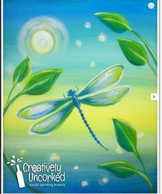 2 Hour Painting Archives - Page 4 of 52 - Creatively Uncorked Painting Lessons, Painting Techniques, Painting & Drawing, Dragonfly Painting, Dragonfly Art, Dragonfly Quotes, Spring Painting, Painting For Kids, Cuadros Diy