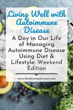 We choose to use diet and lifestyle (rather than drugs) to manage our autoimmune diseases... but what does that actually look like? Here's a peak into our daily autoimmune-friendly life using pictures. #autoimmunediseasetreatment #autoimmuneprotocoldiet #autoimmunediseaseawareness Celiac Disease Treatment, Celiac Disease Diagnosis, Autoimmune Disease Awareness, Essential Oils Rheumatoid Arthritis, Exercise For Rheumatoid Arthritis, Rheumatoid Arthritis Treatment, Chronic Disease Management, Pain Management, Chronic Illness