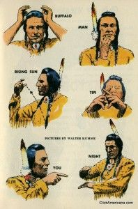 Native American Sign Language