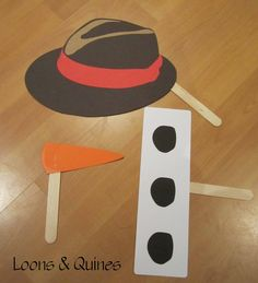 Loons and Quines @ Librarytime: Flannel friday - Snowman Storytime
