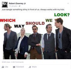 Robert Downey Jr on Facebook