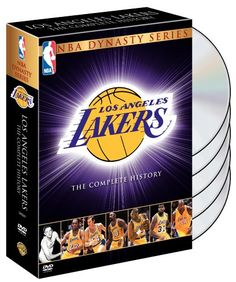 $40.30-$64.98 NBA Dynasty Series - Los Angeles Lakers - The Complete History - Over the past 50 years the Lakers have won an unprecedented 14 championships, making them the best NBA franchise ever. This five-disc special edition collector's set features the complete Lakers history including year-end compilation programs highlighting the Championship seasons from the 1950s through 2002. Plus for th ...