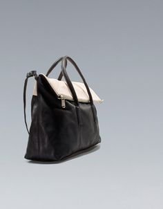 CITYBAG WITH ZIP - Handbags - Woman - ZARA United States