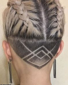 Nape Shaved Design Women para 2018 - Mejores ideas para el corte de pelo de Nape   #corte #design #ideas #mejores #shaved #women