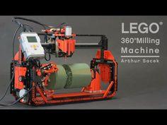 LEGO 360° Milling Machine - YouTube