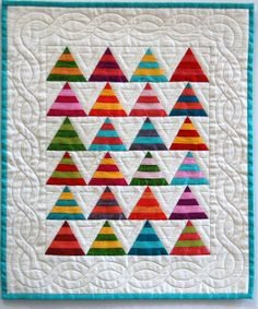 super cute mini quilt.