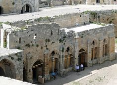 Hall of the Knights, Krak des Chevaliers, Syria