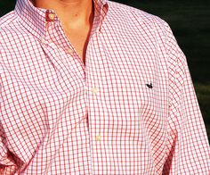 makes for one good lookin' BT! {Southern Marsh Collection — The Mallard Tattersall - Wrinkle Free}