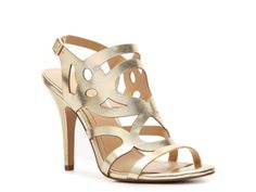 BCBG Paris Faythe Metallic Sandal  #DSW