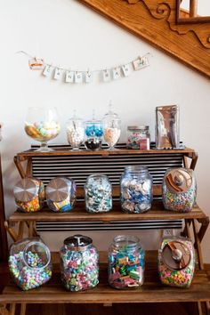 Candy dessert display