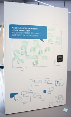 German Museum of Technology : Interactive wall similar to the jewish museum