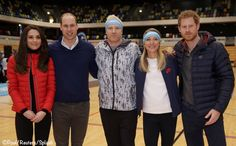 """William, Kate and Harry also dropped in at the Copper Box Arena to talk to team members about their preparations for the marathon and to outline how all 38,000 runners in the 2017 race can help turn the event into the """"mental health marathon."""""""