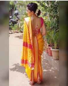 How to Select the Best Modern Saree for You? Marathi Saree, Marathi Bride, Marathi Wedding, Saree Wedding, Wedding Bride, Kashta Saree, Lehenga Choli, Anarkali, Indian Dresses