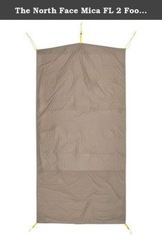 The North Face Mica FL 2 Footprint - Weimaraner Brown. Footprints shield your tent floor from the cooler - and sometimes wet or abrasive - ground, prolonging the life of the tent floor.