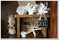 Coral decor ideas.