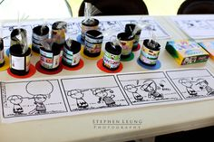 Great idea for the kids to do, let them complete the comic strip.