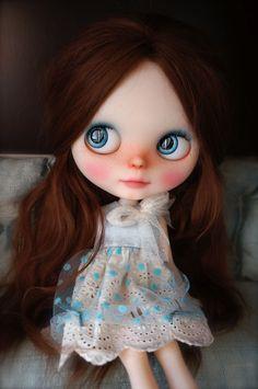 OOAK Blythe doll by Forty Winks Doll Studio's Lassy (translucent RBL) | eBay