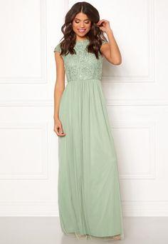 fcad863920 BUBBLEROOM Ariella prom dress Light green - Bubbleroom