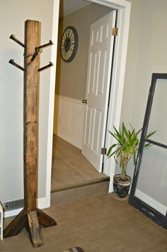 My coat rack!! :) I want dad to put together for me.