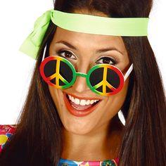 Gafas Hippie Amor y Paz
