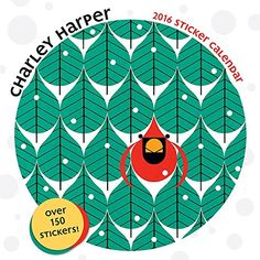 Charley Harper 2016 Sticker Calendar by Charley Harper http://www.amazon.com/dp/0764970593/ref=cm_sw_r_pi_dp_-mP3vb18D8WGW