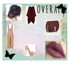 """""""Overalls"""" by merymutapcic ❤ liked on Polyvore featuring The Row, Christian Louboutin, Marc Jacobs and TIBI"""